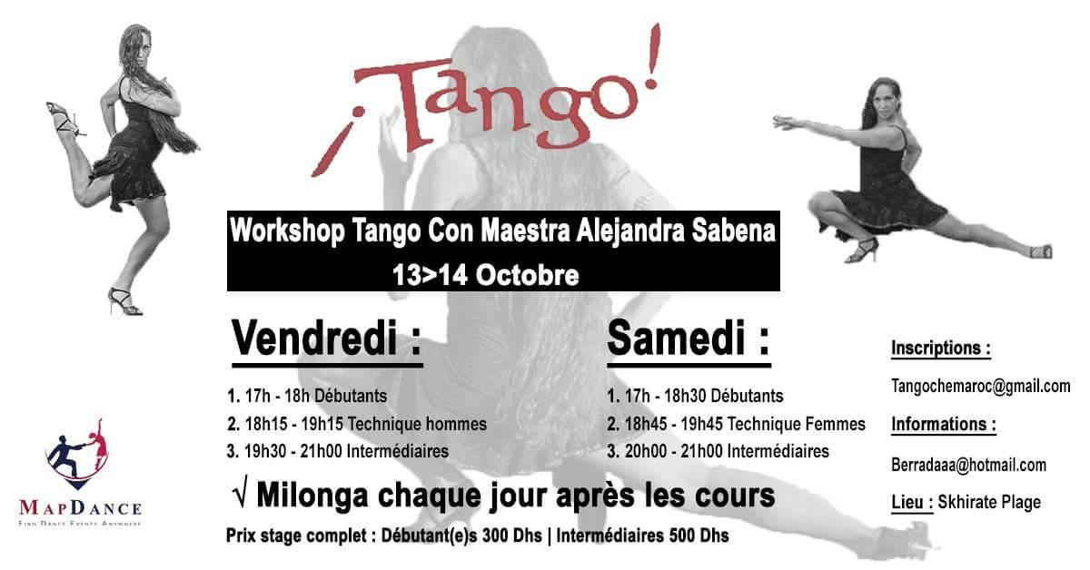 Tango Lessons At Rabat – Maroc 2017