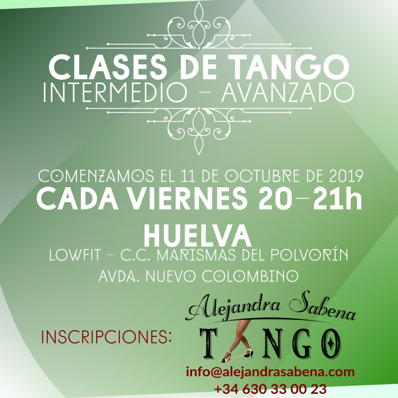 Clases De Tango En Huelva Avanzado
