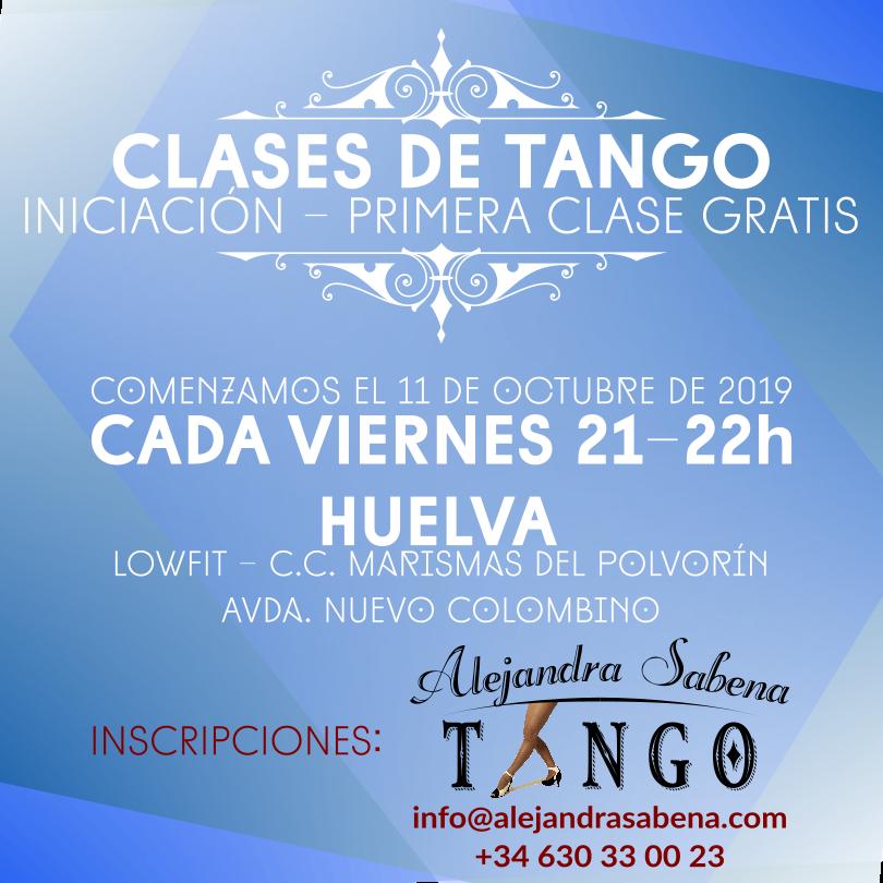 Clases De Tango En Huelva Iniciación