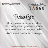 Tango-gym Clase Online Gratis