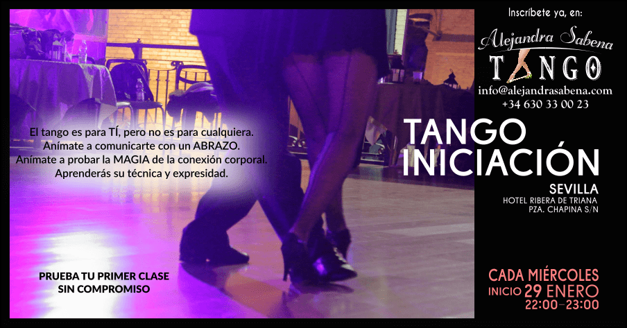 Nuevas Clases De Iniciación Al Tango En Sevilla