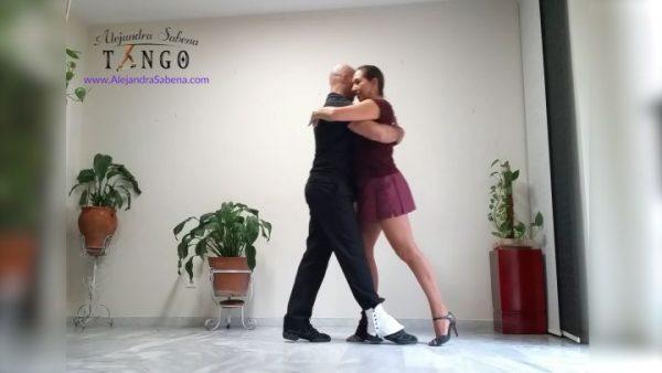 Dominio del rebote básico iniciación al tango