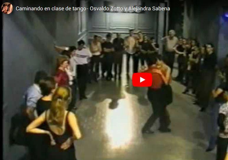 Clase Tango Con Osvaldo Zotto