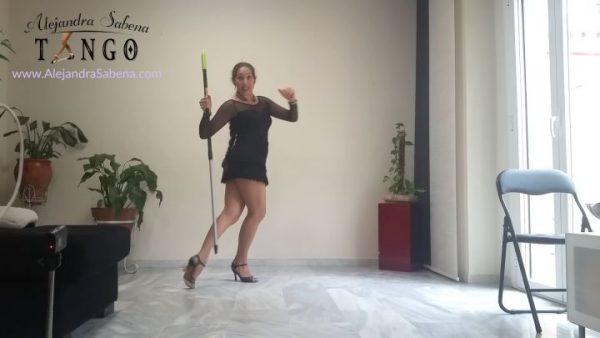Técnica de voleo flexionado